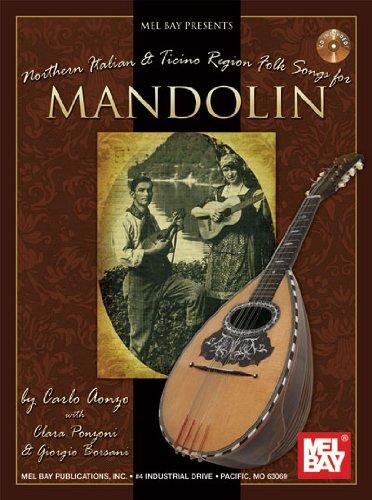 9780786682645: Northern Italian & Ticino Region Folk Songs For Mandolin