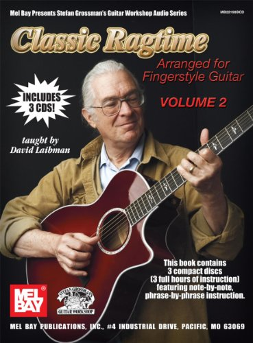 9780786682690: Classic Ragtime Guitar: Arranged for Fingerstyle Guitar: 2