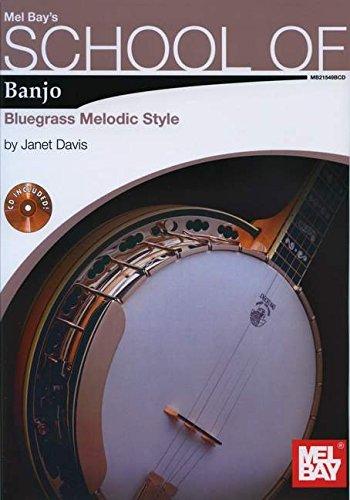 9780786682706: School of Banjo: Bluegrass Melodic Style Book/2-CD Set