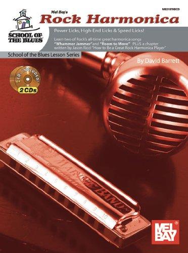 9780786682799: Mel Bay's Rock Harmonica: Power Licks, High-end Licks & Speed Licks! (School of the Blues)