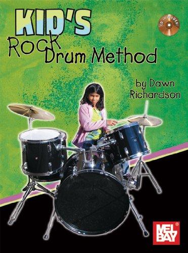 9780786682973: Kid's Rock Drum Method Book/CD Set