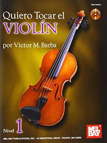 9780786682997: Quiero Tocar el Violin, Nivel 1 [With CD (Audio)]