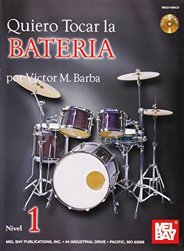 9780786683024: Quiero Tocar La Bateria Book/CD Set (Spanish Edition)
