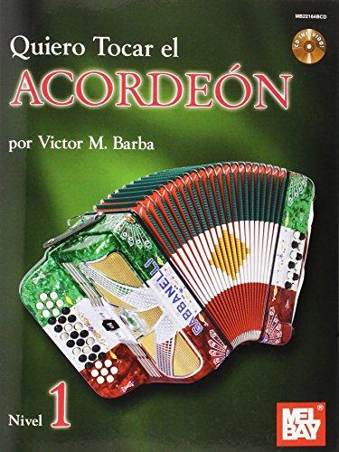 9780786683048: Quiero Tocar El Acordeon Book/CD Set