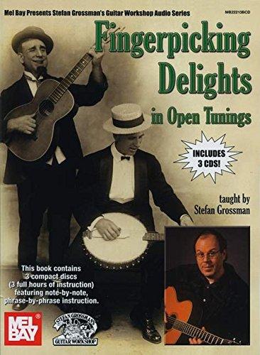 9780786683093: Fingerpicking Delights in Open Tunings Book/3-CD Set (Stefan Grossman's Guitar Workshop Audio)