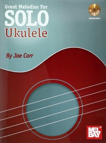 9780786683116: Great Melodies for Solo Ukulele