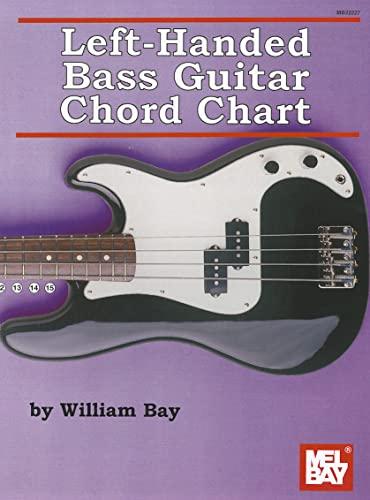 9780786683246: Left-Handed Bass Guitar Chord Chart
