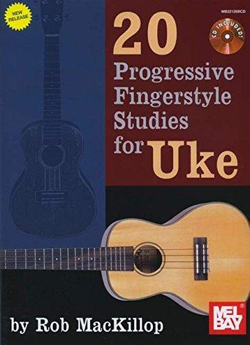 9780786683307: 20 Progressive Fingerstyle Studies for Uke