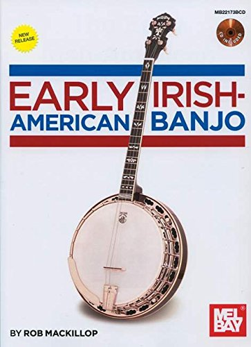 9780786683352: Early Irish-American Banjo Book/CD SetFrom 19th Century Banjo Publications