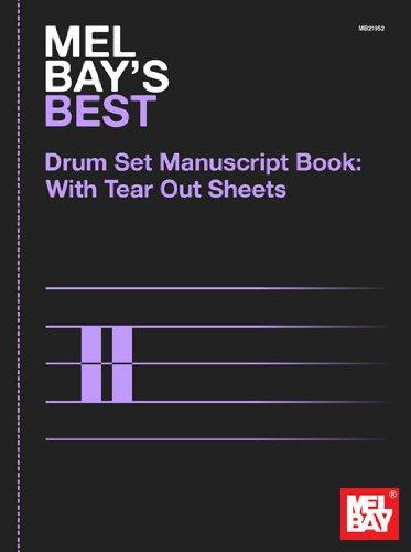 9780786683734: Best Drumset Manuscript Book