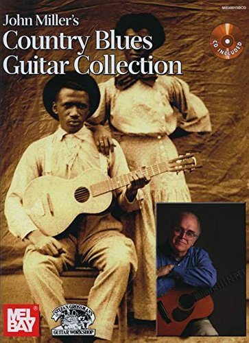 9780786683918: John Miller's Country Blues Guitar Collection Book/CD Set