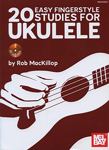 9780786683970: 20 Easy Fingerstyle Studies for Ukulele