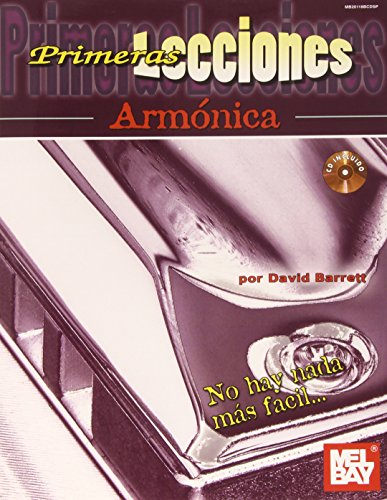9780786684014: First Lessons Harmonica, Spanish Edition Book/CD Set