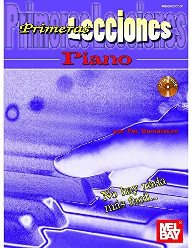 9780786684144: Primeras Lecciones Piano (Book and CD) (Spanish Edition)