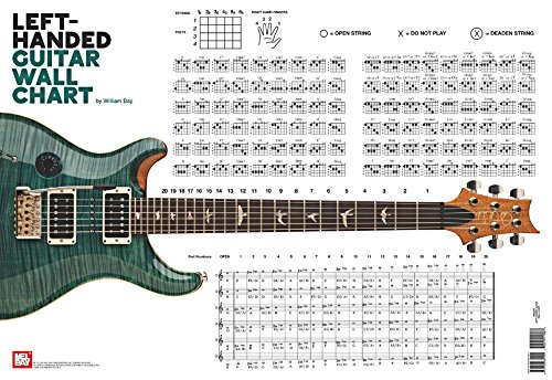 9780786684205: Left-Handed Guitar Wall Chart