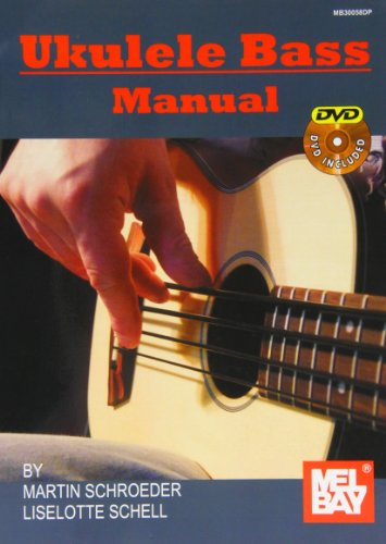 9780786684359: Ukulele Bass Manual (Book/DVD Package)