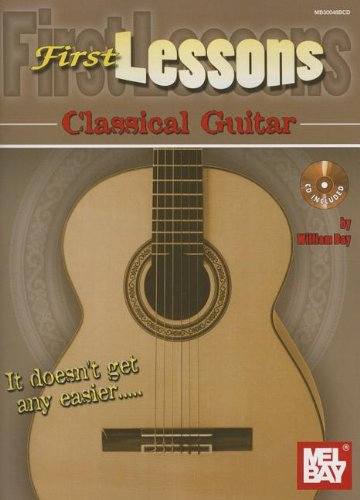 9780786684410: First Lessons Classical Guitar