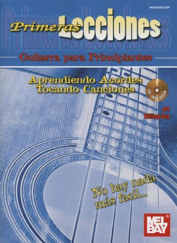 9780786684526: First Lessons Beginning Guitar +CD (Primeras Lecciones / First Lessons)