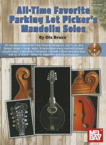 9780786684533: All-Time Favorite Parking Lot Pickers Mandolin Solos Bk/Cd