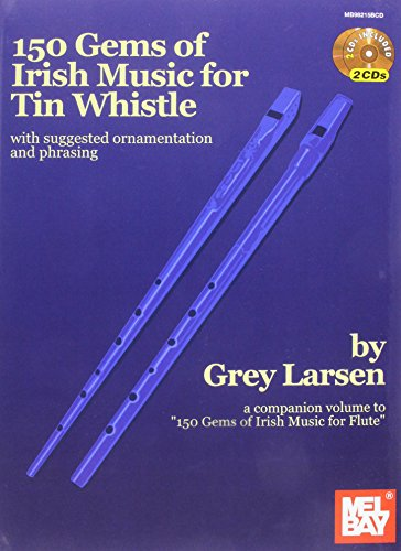 9780786684793: 150 Gems of Irish Music for Tin Whistle (Book/CD Set)