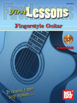 9780786684861: First Lessons Fingerstyle Guitar (Book/CD Set)