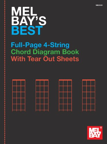 Mel Bay's Best Full-Page 4-String Chord Diagram Book: Not Available