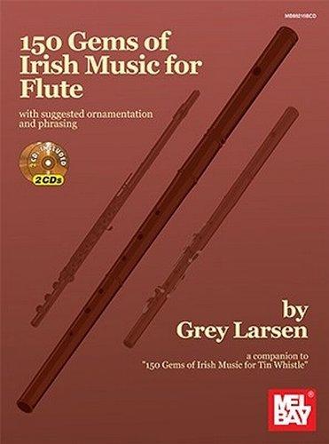 9780786685127: 150 Gems of Irish Music for Flte: Book/2-CD Set +CD