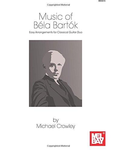 9780786685288: Music of Bela Bartok: Easy Arrangements for Classical Guitar Duo