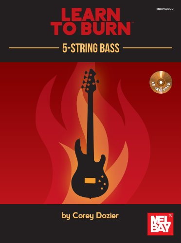 9780786685554: Learn to Burn: 5-String Bass Guitar