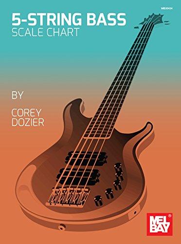 9780786685714: Corey Dozier 5 String Bass Chart