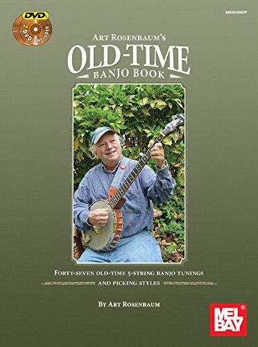 9780786686025: Art Rosenbaum's Old-Time Banjo Book (Book/2 DVDs)