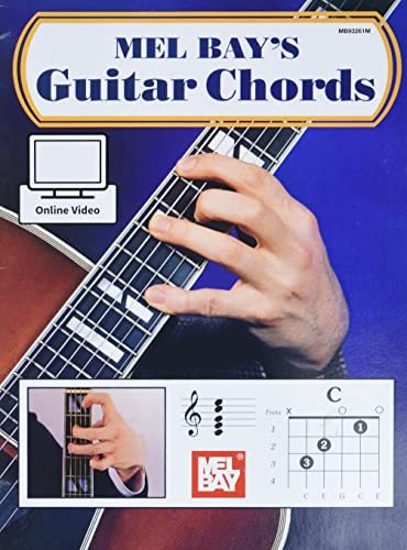 Guitar Chords: With Online Instructional Video: Bay, Mel