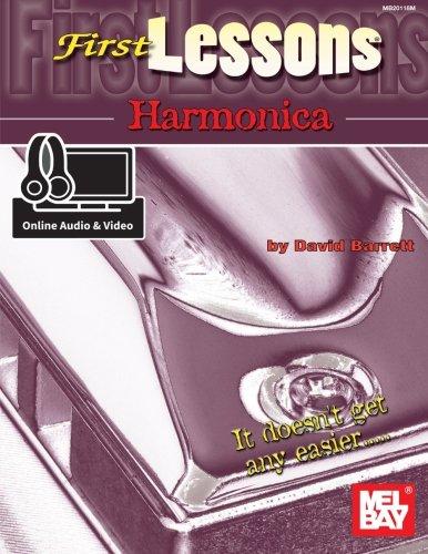 First Lessons Harmonica - Barrett, David