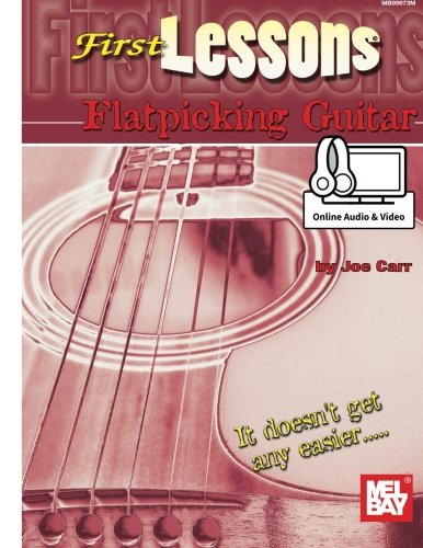 9780786687954: First Lessons Flatpicking Guitar