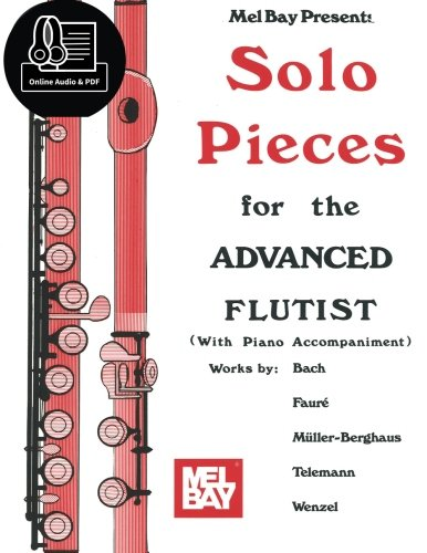 9780786688159: Solo Pieces for the Advanced Flutist
