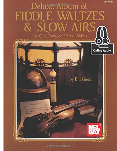 9780786688258: Deluxe Album of Fiddle Waltzes & Slow Airs