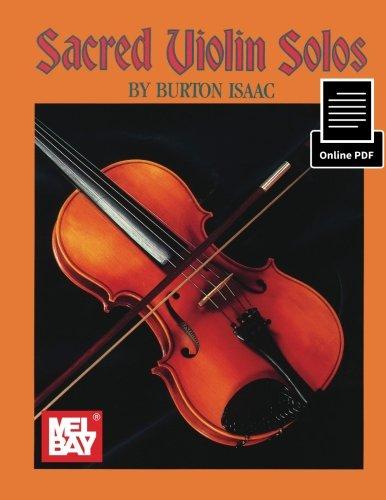 9780786688586: Sacred Violin Solos: With Keyboard Accompaniment