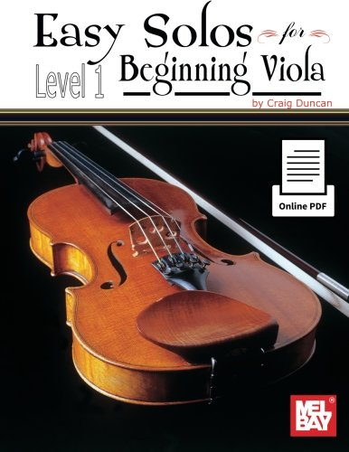 9780786688784: Easy Solos for Beginning Viola: Level 1: With Piano Accompaniment