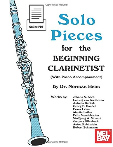 9780786688838: Solo Pieces for the Beginning Clarinetist