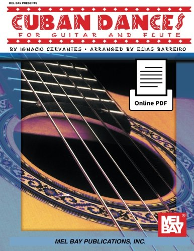 9780786689279: Cuban Dances for Guitar and Flute
