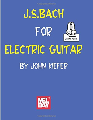 9780786689286: J. S. Bach for Electric Guitar