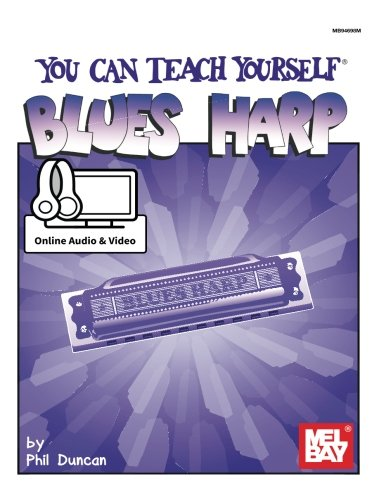 9780786689910: You Can Teach Yourself Blues Harp