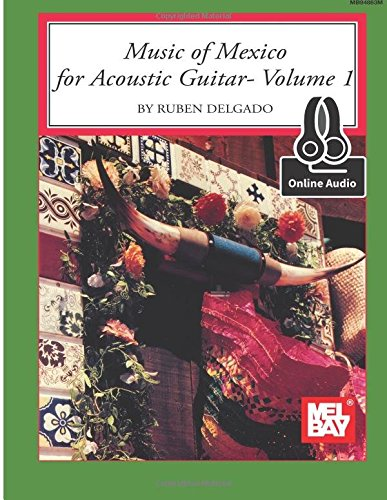 9780786690077: Music of Mexico for Acoustic Guitar: Includes Online Audio