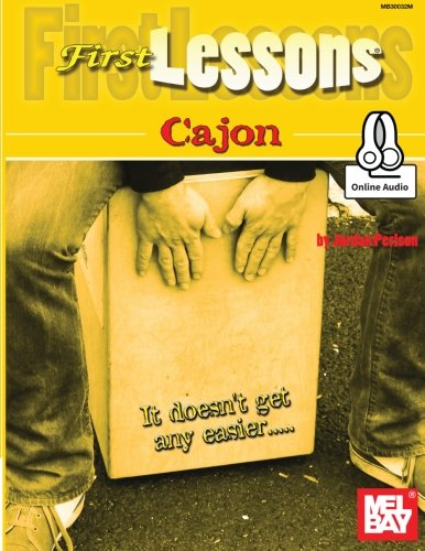 9780786690084: Jordan Perlson: First Lessons Cajon (Book/Online Audio) +Telechargement