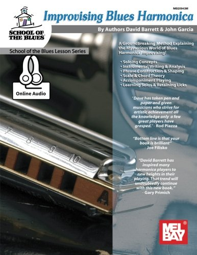 9780786690206: Improvising Blues Harmonica (School of Blues Lesson)