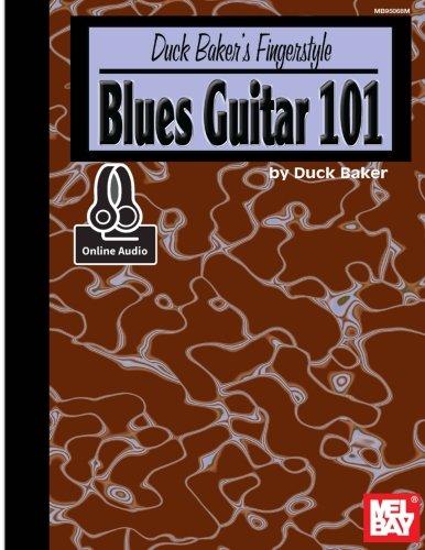 9780786690299: Duck Baker's Fingerstyle Blues Guitar 101