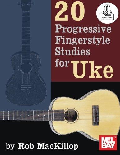 9780786690374: 20 Progressive Fingerstyle Studies for Uke