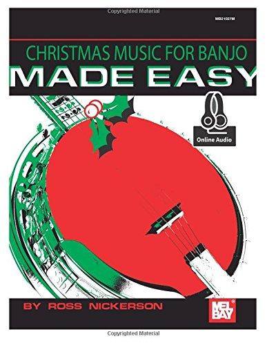 9780786690671: Christmas Music for Banjo Made Easy