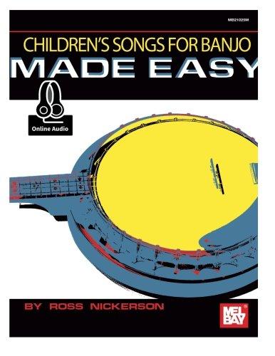 9780786691968: Children's Songs for Banjo Made Easy