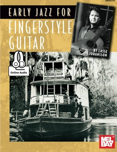9780786692194: EARLY JAZZ FOR FINGERSTYLE GUITAR